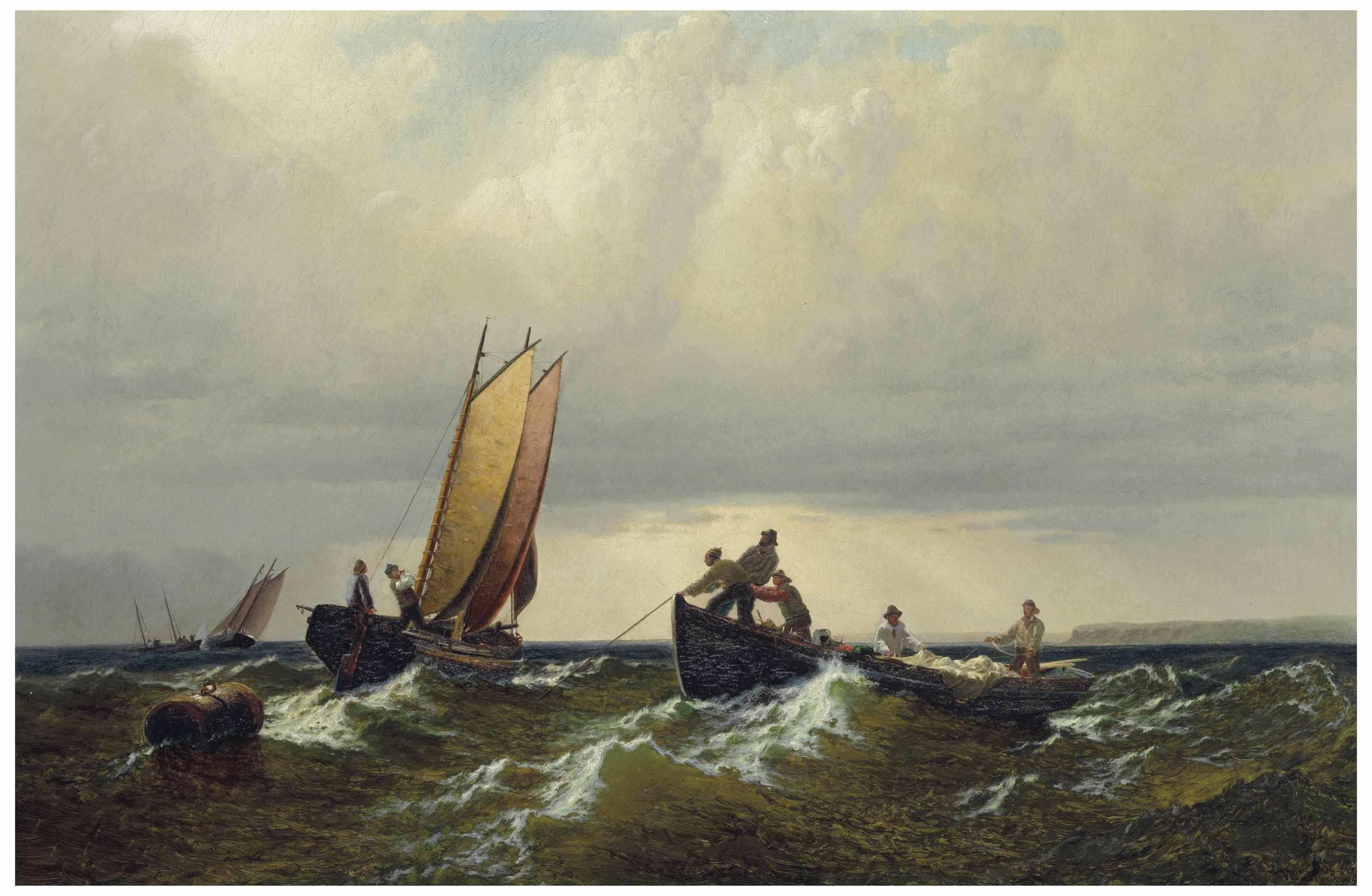 Fishermen on the Bay of Fundy