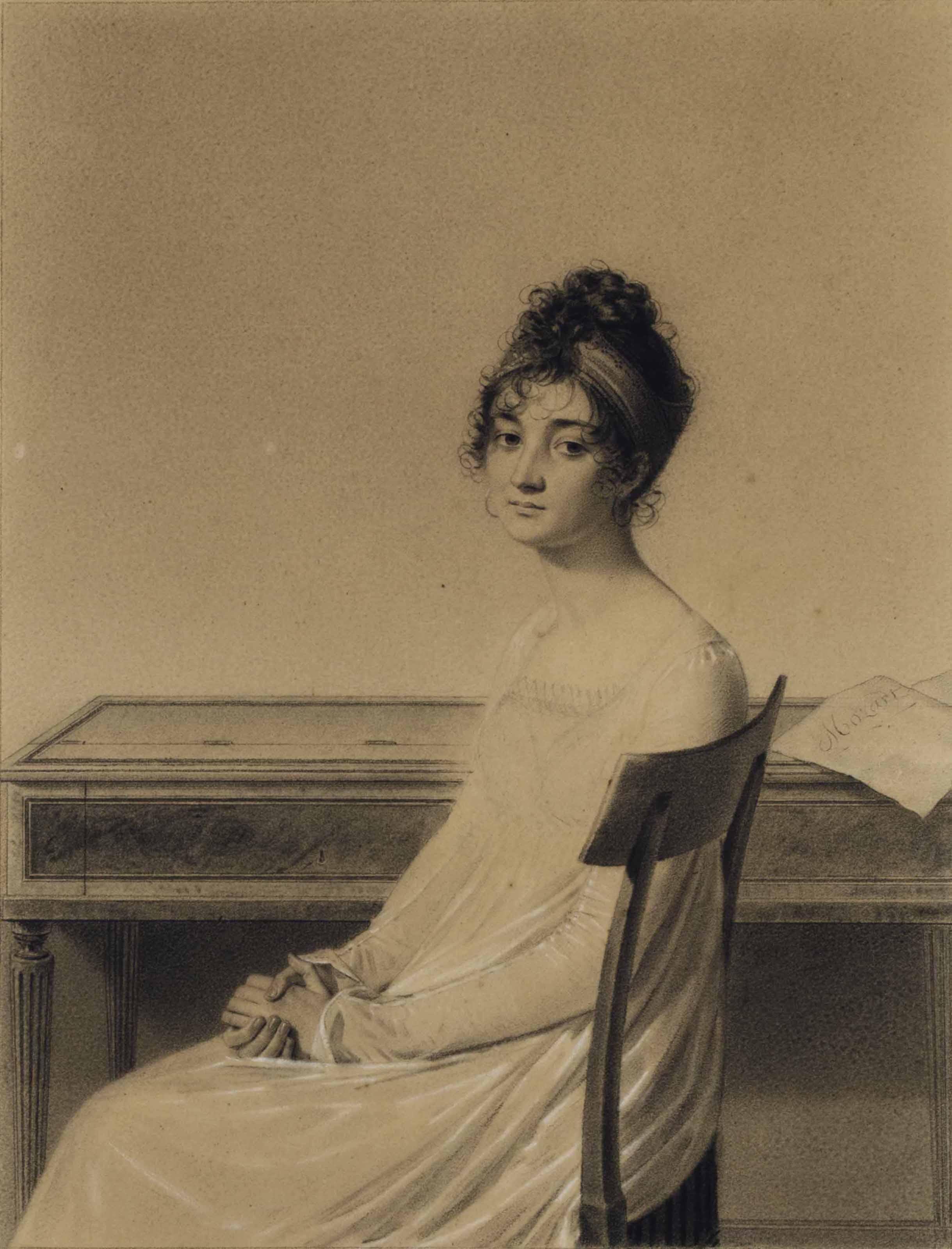 Portrait of Mme Eugénie Moreau