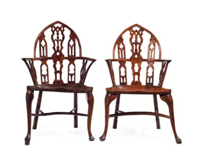 A MATCHED PAIR OF GEORGE III Y
