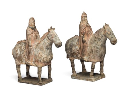 Reign marks on chinese ceramics an expert guide christies two painted pottery figures of equestrians reviewsmspy