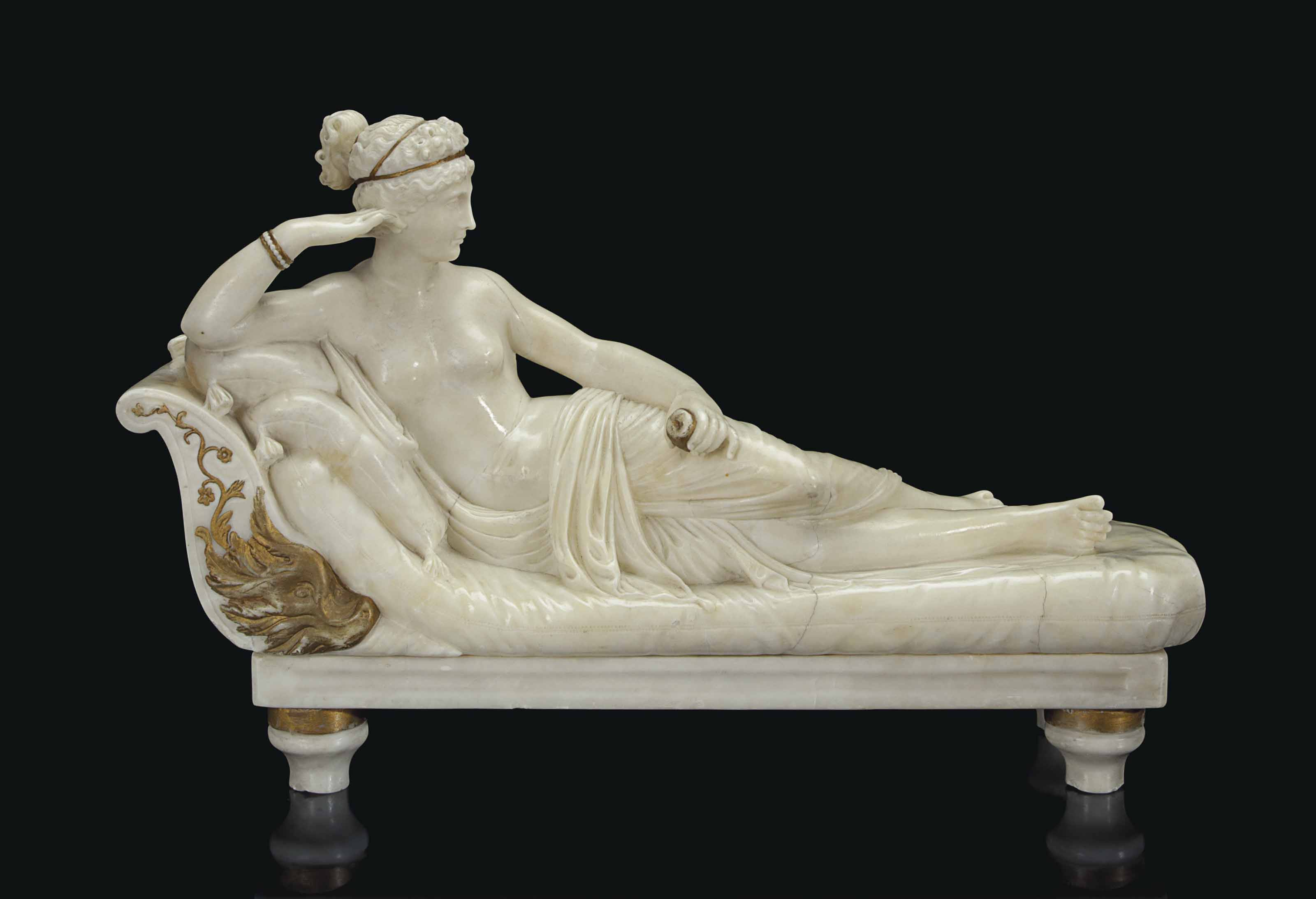 After Antonio Canova Paolina Borghese Christie S