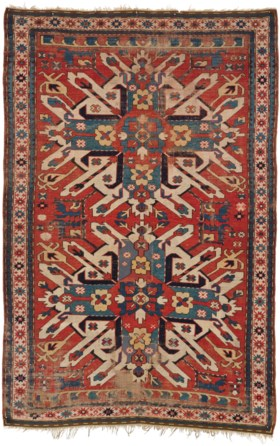 AN EAGLE KAZAK RUG