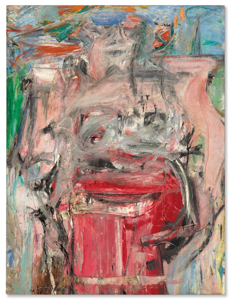 Willem de Kooning (1904-1997), Woman as Landscape, painted in 1954-1955. Sold for $68,937,500 on 13 November 2018 at Christie's in New York