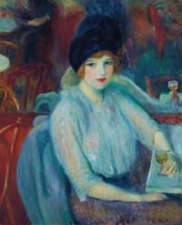Café Lafayette (Portrait of Kay Laurell)