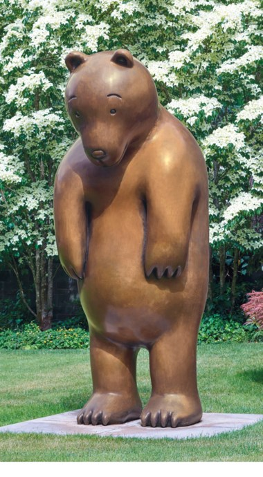 Tom Otterness (b. 1952), Large Bear, executed in 2000. this work is number three from an edition of three. Sold for $1,512,500 on 13 November 2018 at Christie's in New York