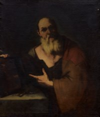 Le philosophe Socrate