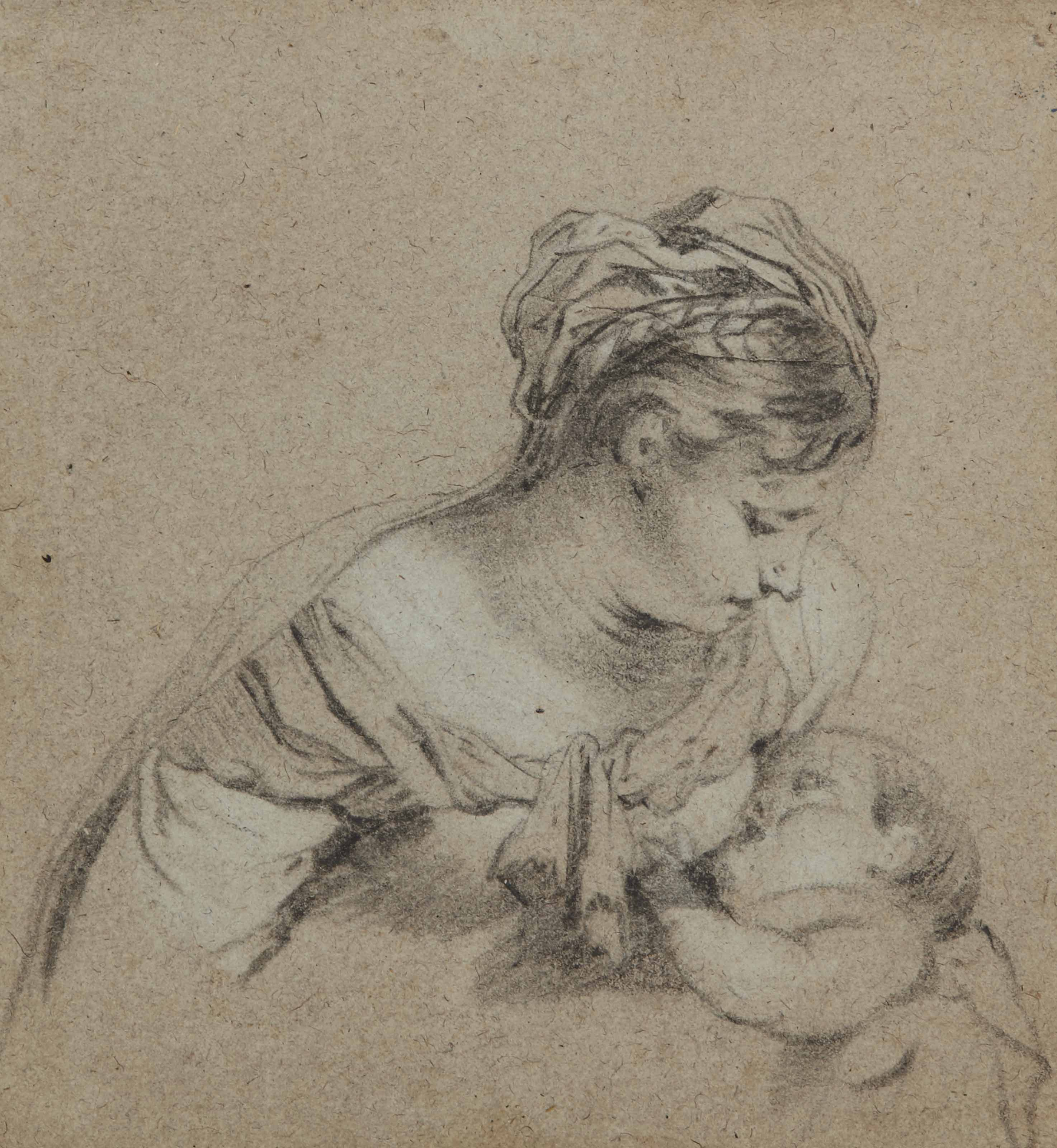 Femme allaitant