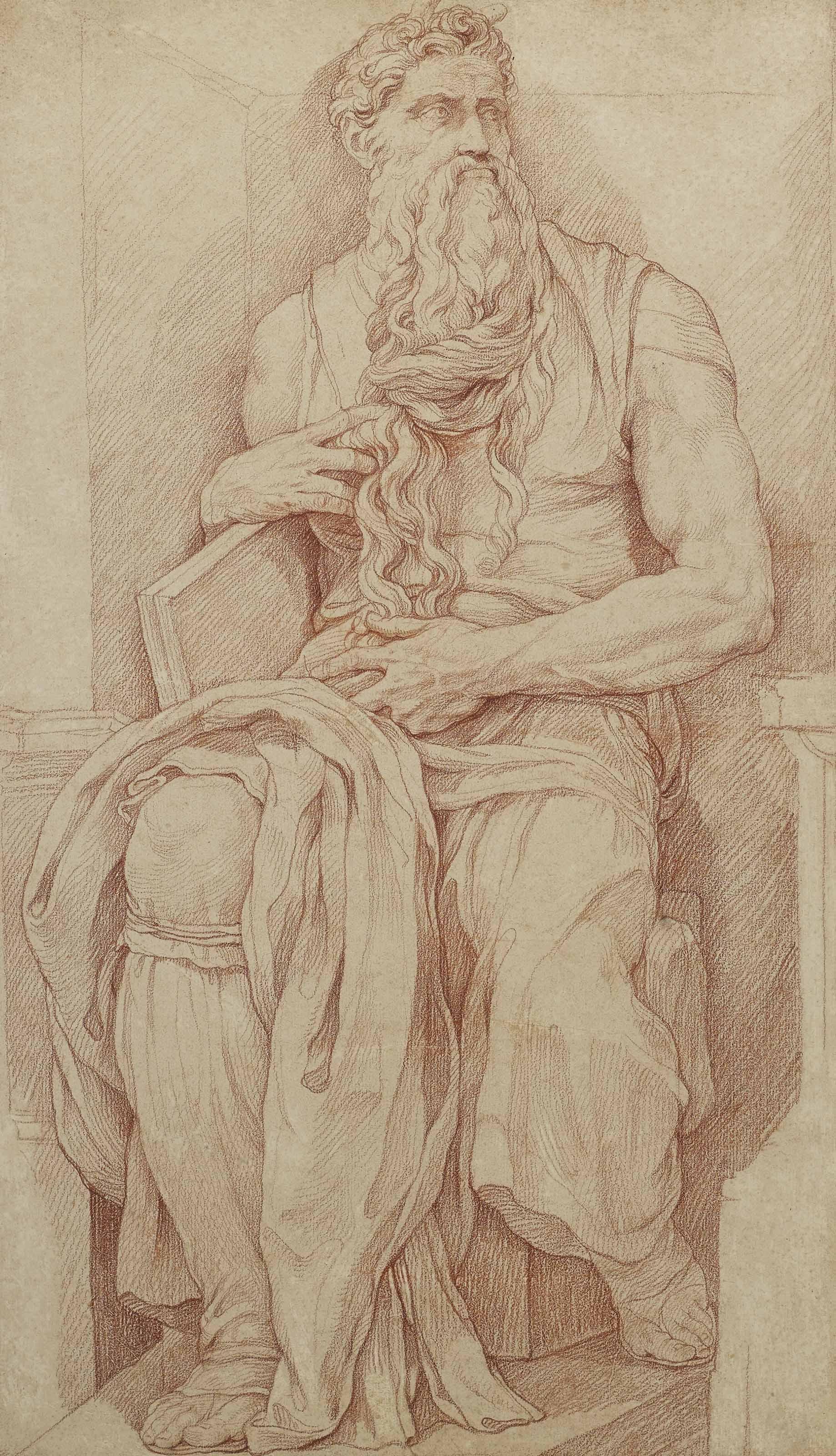 Moïse, d'après Michel-Ange
