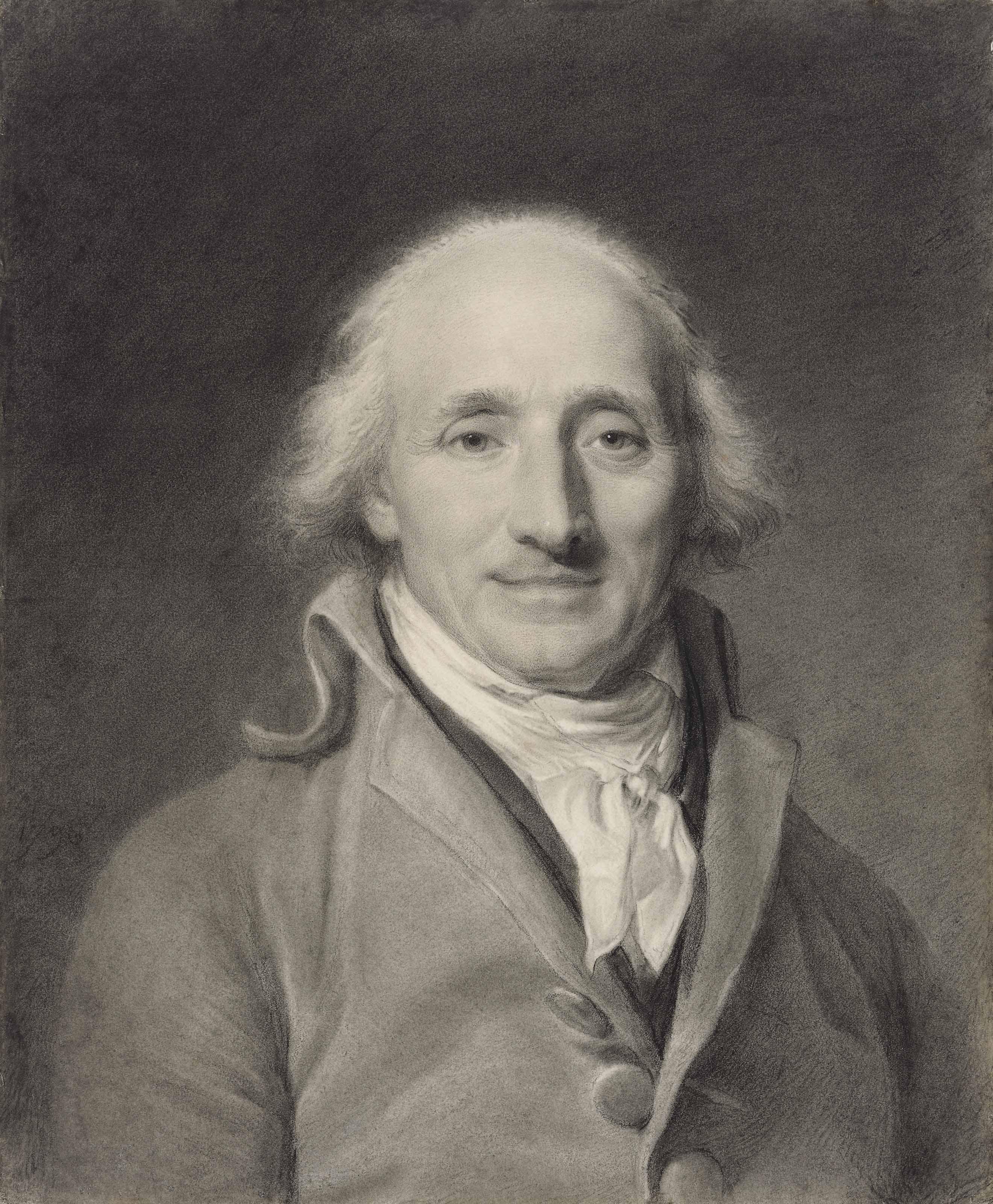 Portrait d'un homme en buste