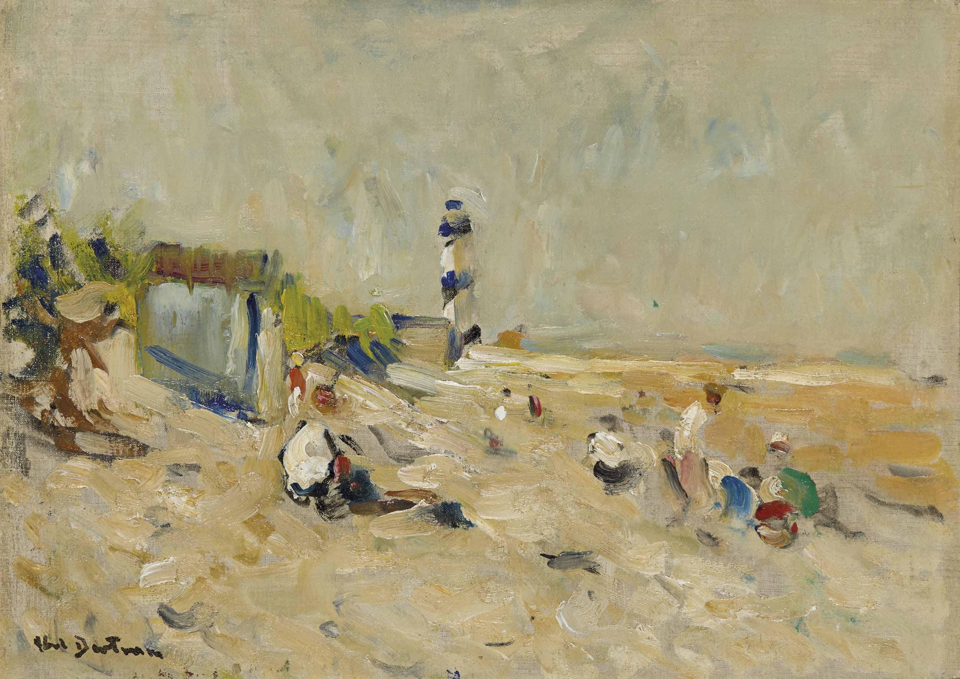 La plage du Petit Fort
