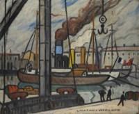 Vue du port de Marseille