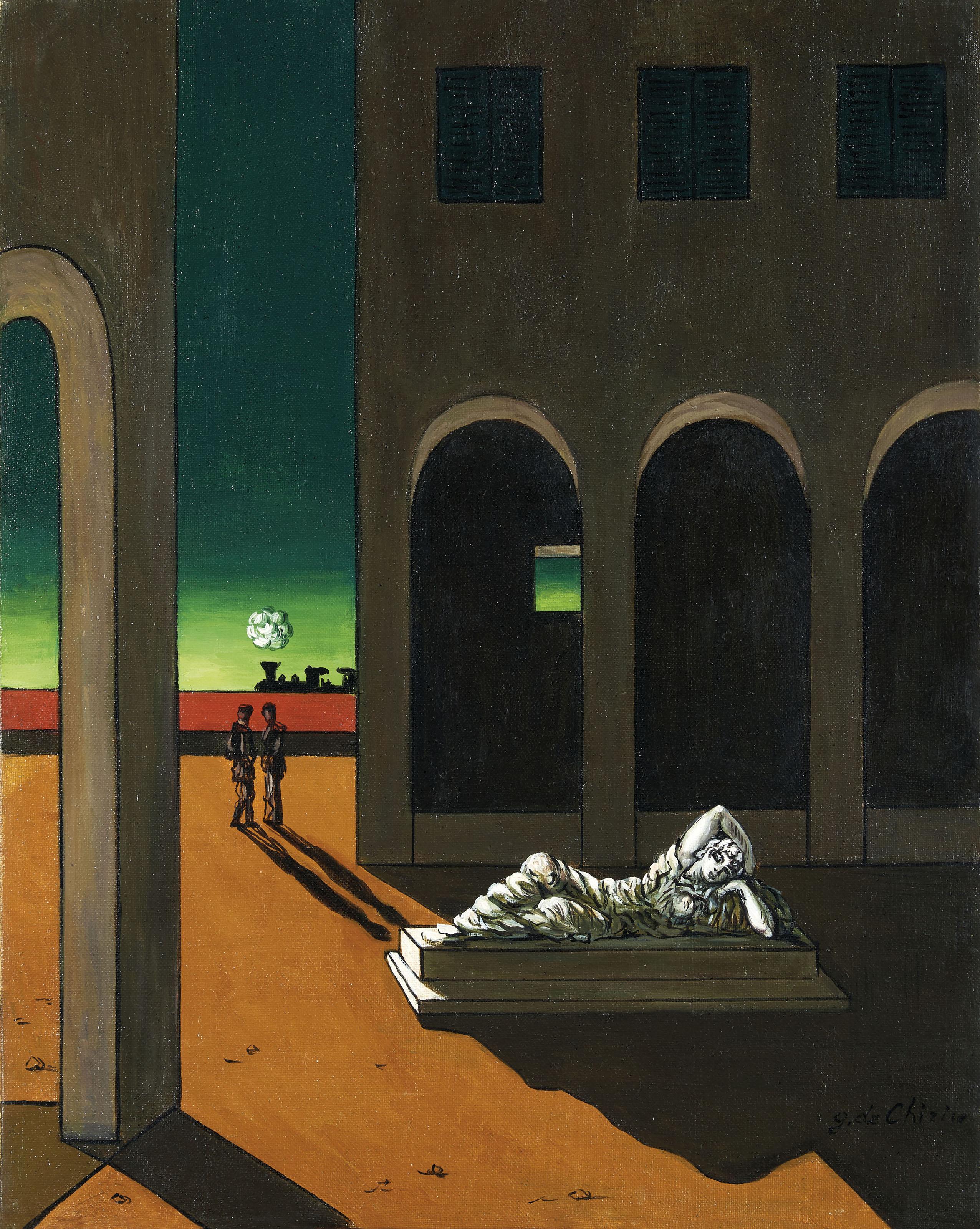 Qu Est Ce Qu Une Loggia giorgio de chirico (1888–1978) | malinconia torinese