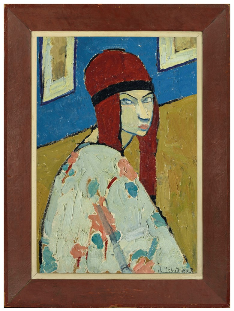 Image result for jeanne hebuterne self portrait