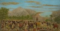 La bataille de Palerme, carthaginois et romains