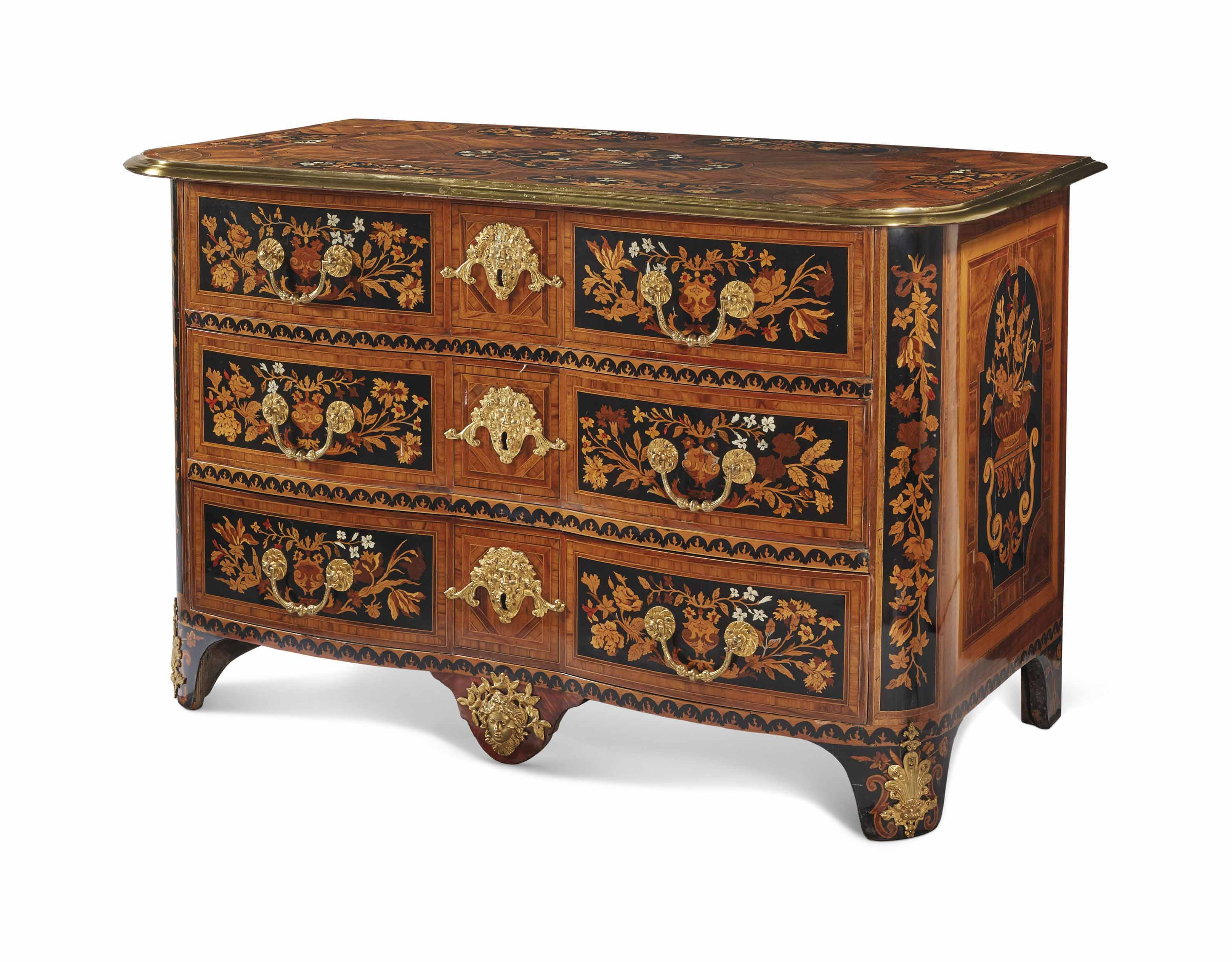 commode de style louis xiv comprenant des elements anciens christie 39 s. Black Bedroom Furniture Sets. Home Design Ideas