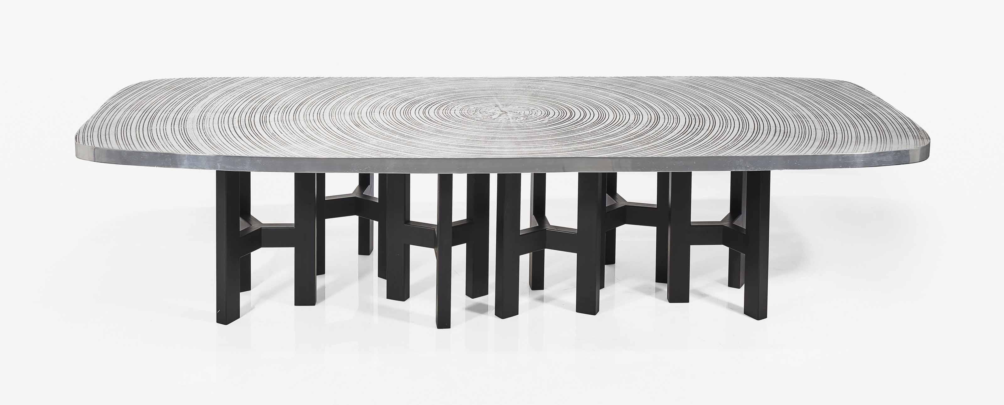 ado chale n en 1928 table de salle manger mod le 39 goutte d 39 eau 39 1995 christie 39 s. Black Bedroom Furniture Sets. Home Design Ideas