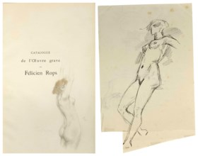 [ROPS, Félicien (1833-1898)] - RAMIRO, Erastène (1853-1928)