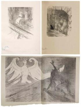 [TOULOUSE-LAUTREC, Henri de (1864-1901)] – CLEMENCEAU, Georg