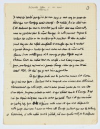CAMUS, Albert (1913-1960). Nouvelle lettre à un ami allemand. Manuscrit autographe non signé et non daté [vers 1944]