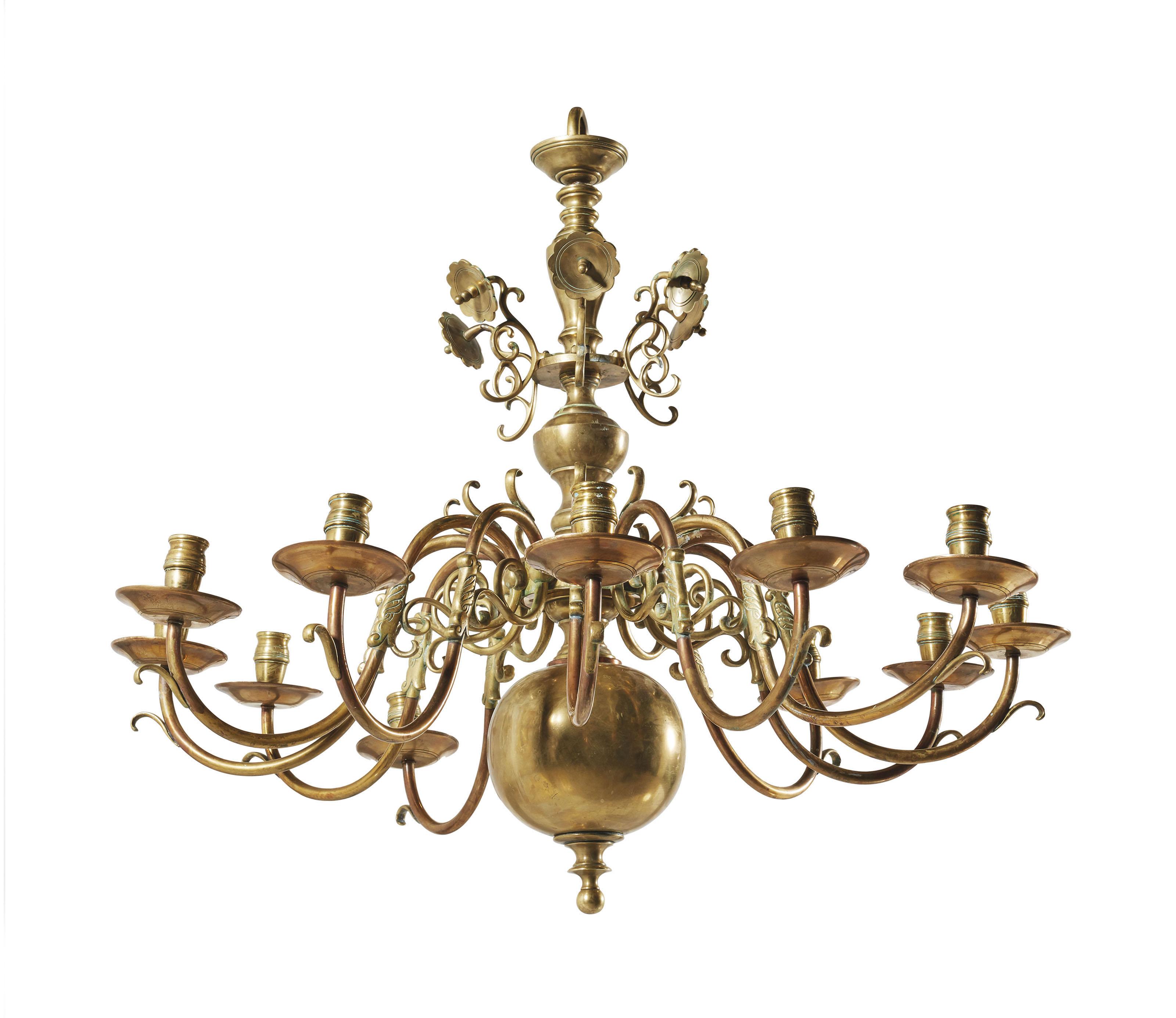 lustre hollandais de style baroque milieu du xixe siecle christie 39 s. Black Bedroom Furniture Sets. Home Design Ideas