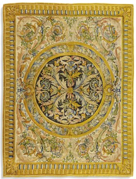 TAPIS ROYAL D'EPOQUE LOUIS XIV