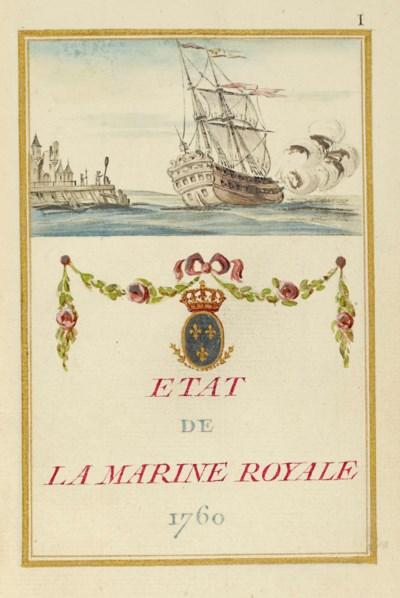 [MARINE]. Etat de la Marine Ro