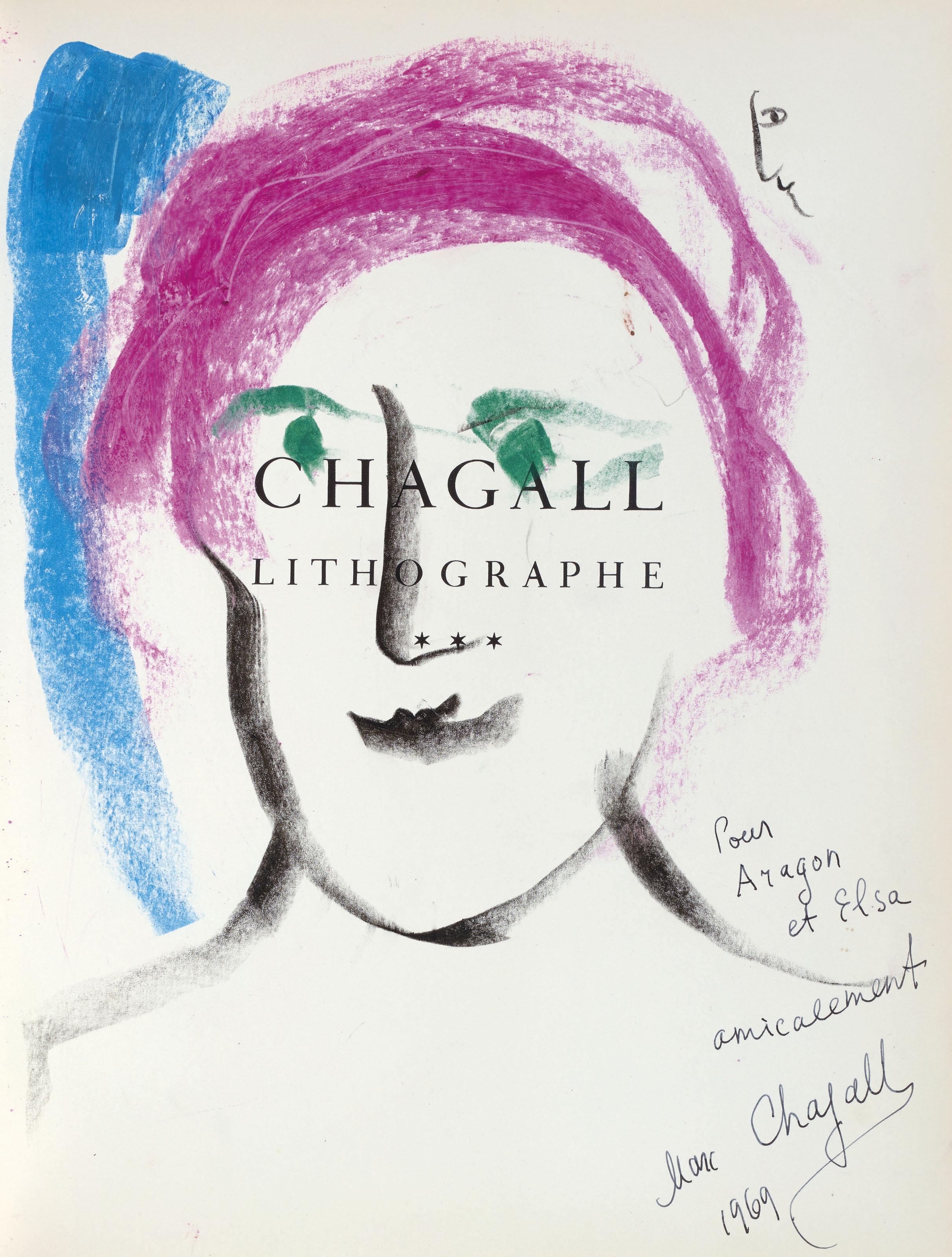 [CHAGALL, Marc (1887-1985)] –