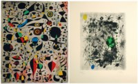 [MIRO, Joan (1893-1983)] -- BRETON, André (1896-1966). Constellations. Introduction et vingt-deux proses parallèles par André Breton. New York : Pierre Matisse, 1959.