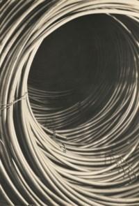 Copper wire spool, Rome Wire Corporation, New York, 1929