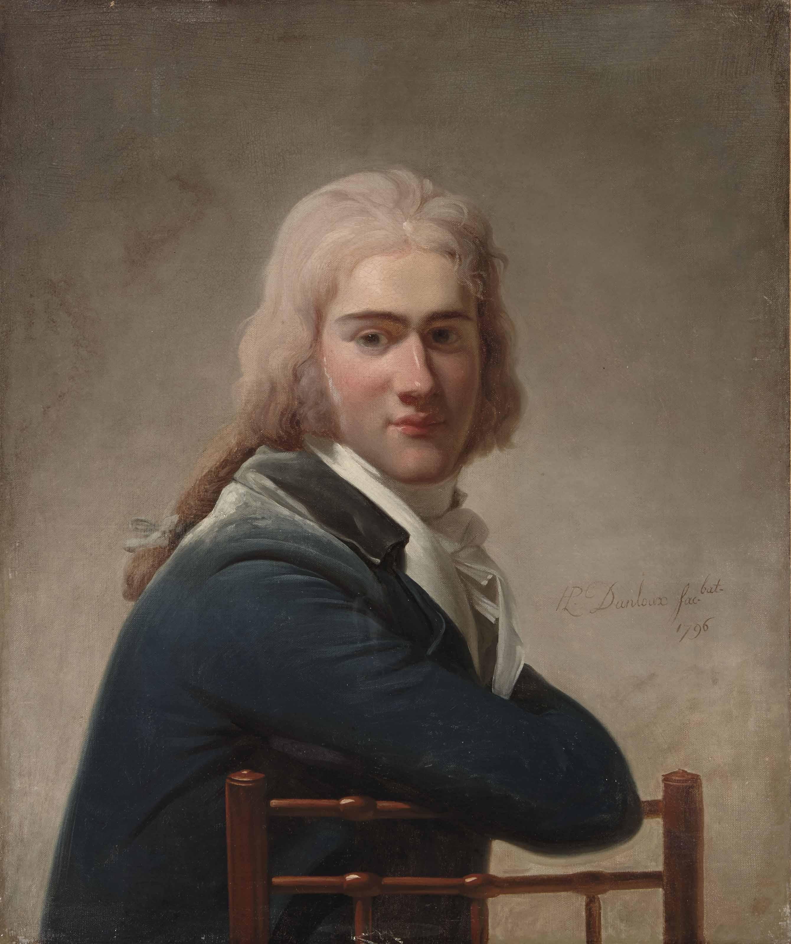 Portrait du jeune De Vignier
