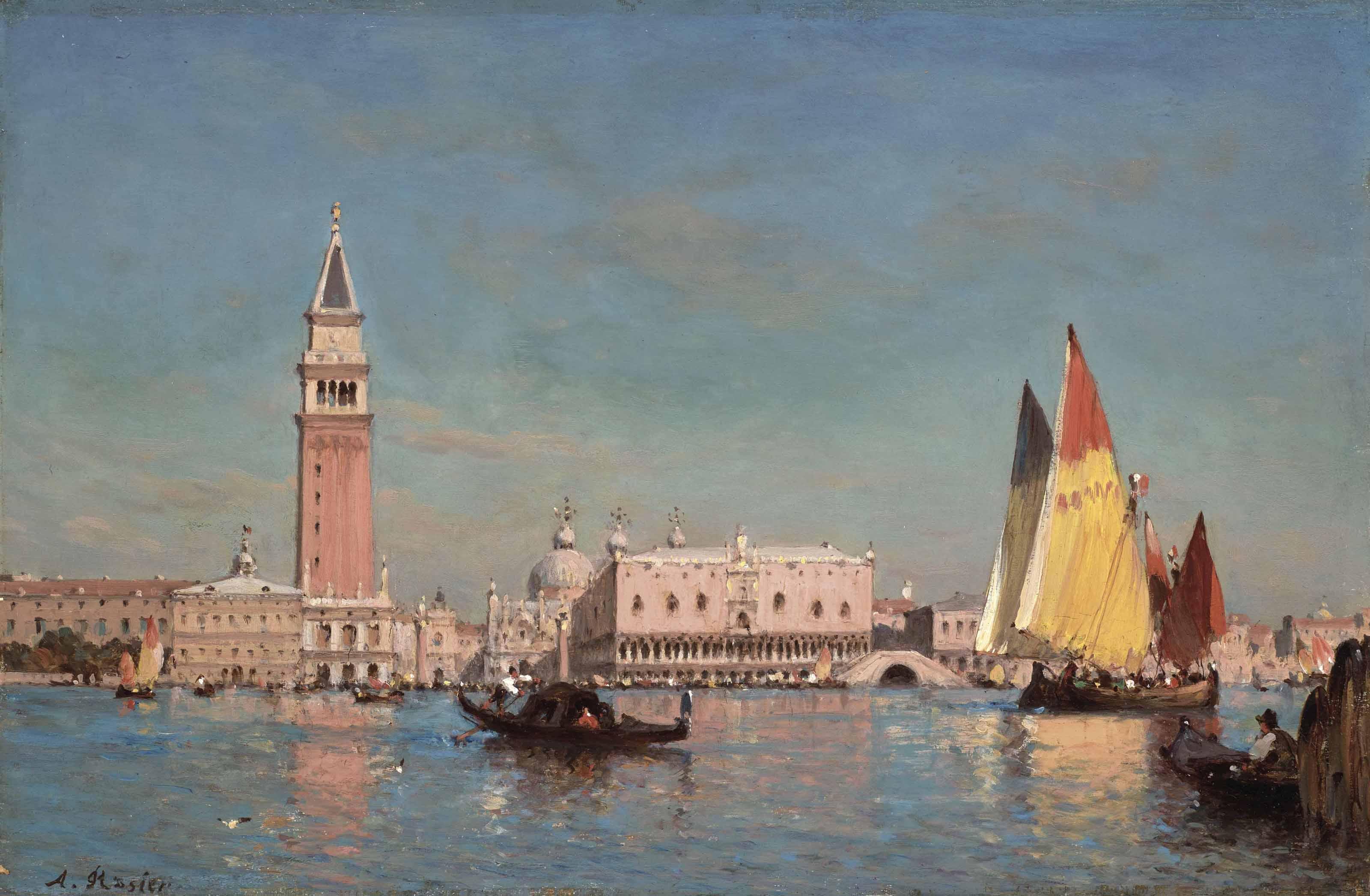 Le Grand Canal à Venise