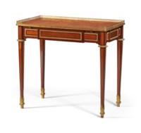 TABLE A ECRIRE ROYALE D'EPOQUE LOUIS XVI