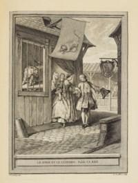 LA FONTAINE, Jean de (1621-1695). Fables choisies, mises en vers. Paris : Desaint & Saillant, 1755-1759.
