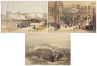 ROBERTS, David (1796-1864). The Holy Land, Syria, Idumea, Arabia, Egypt, & Nuvia. Londres : F.G. Moon, 1842 [-45].