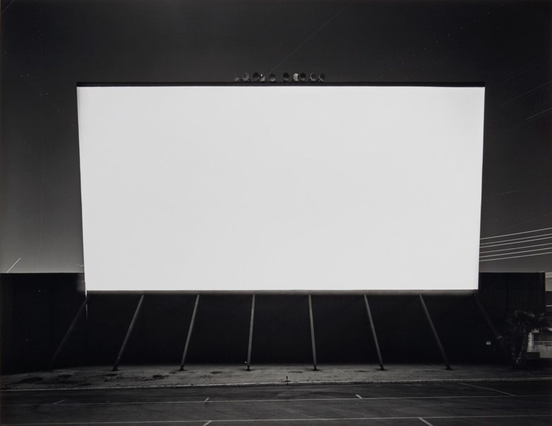Hiroshi Sugimoto (Né en 1948), Simi Valley Drive-In, 1993. Montage 50,8 x 63,6  cm (20 x 25  in). Estimate €15,000-20,000. This lot is offered in Hiroshi Sugimoto Photographs The Fossilization of Time on 8 November 2018 at Christie's in Paris