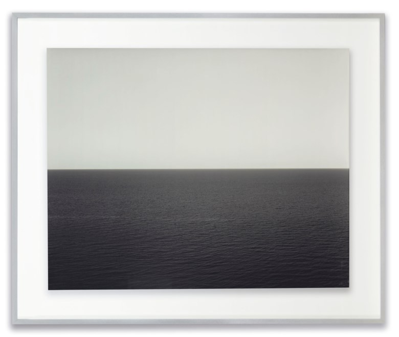 Hiroshi Sugimoto (Born in 1948), Sea of Japan, Rebun Island, 1996. Image  sheet  mounting 119.2 x 148.5  cm (47 x 58 ¾  in) . Estimate €200,000-300,000. This lot is offered in Hiroshi Sugimoto Photographs The Fossilization of Time on November 8 2018 at Christie's in Paris