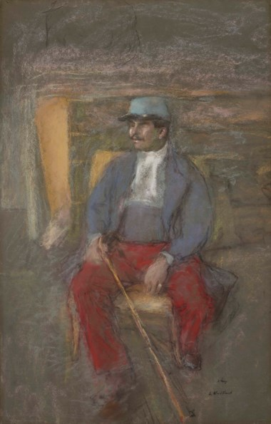 Édouard Vuillard (1868-1940), Lucien Grandjean, executed in 1915. 96.2 x 61.6  cm. Estimate €30,000-50,000. This lot is offered in Hommage à la famille Hessel  mécènes et modèles on 23 March 2018  at Christie's in Paris