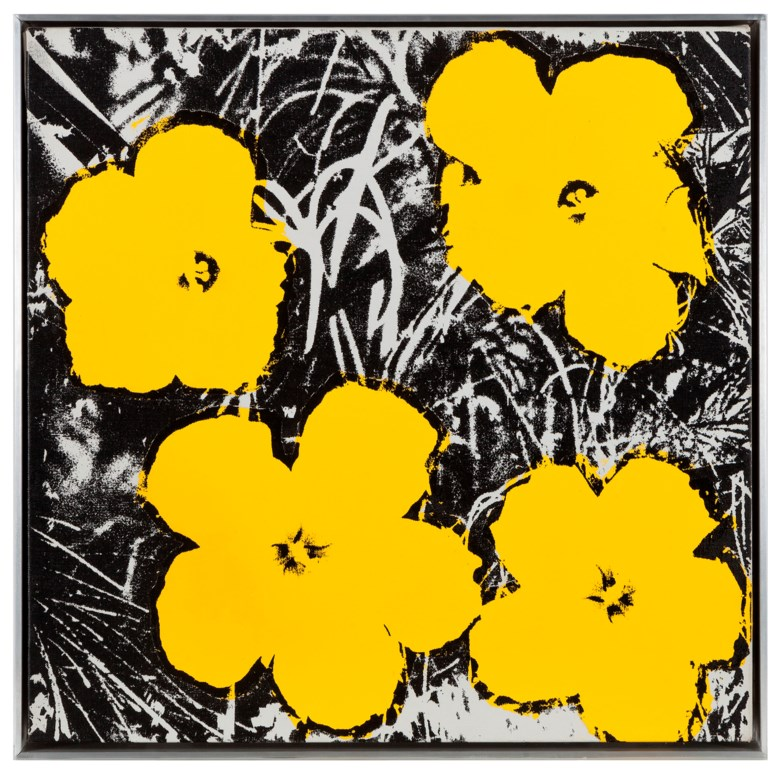 Andy Warhol (America, 1928-1987), Flowers, painted in 1978. 55.9 x 55.9  cm (22 x 22  in). Estimate CNY 9,500,000-12,000,000. This lot is offered in 20th Century & Contemporary Art (Evening Sale) on 21 September 2018 at Christie's in Shanghai