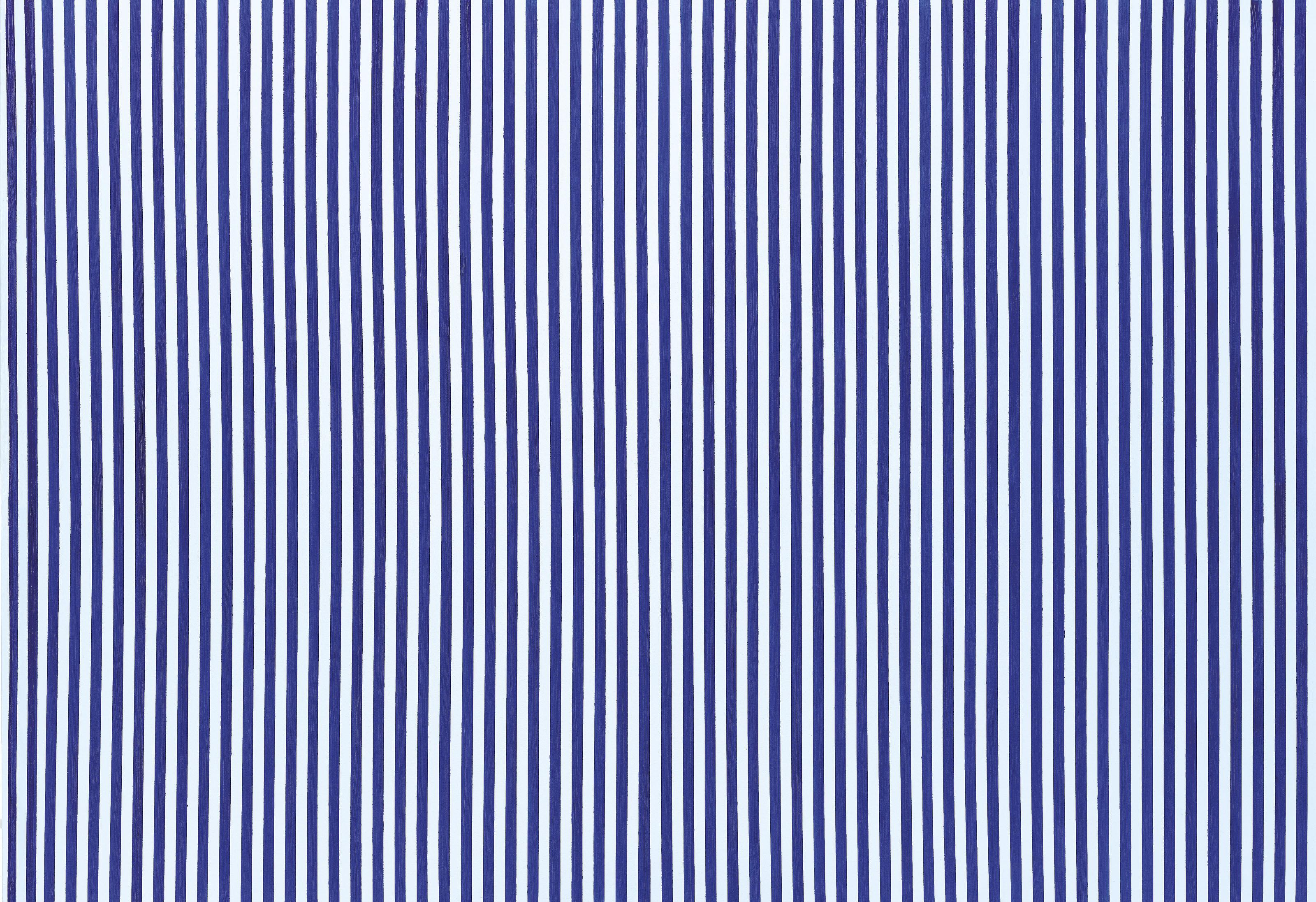 Untitled (Blue strips), 1989