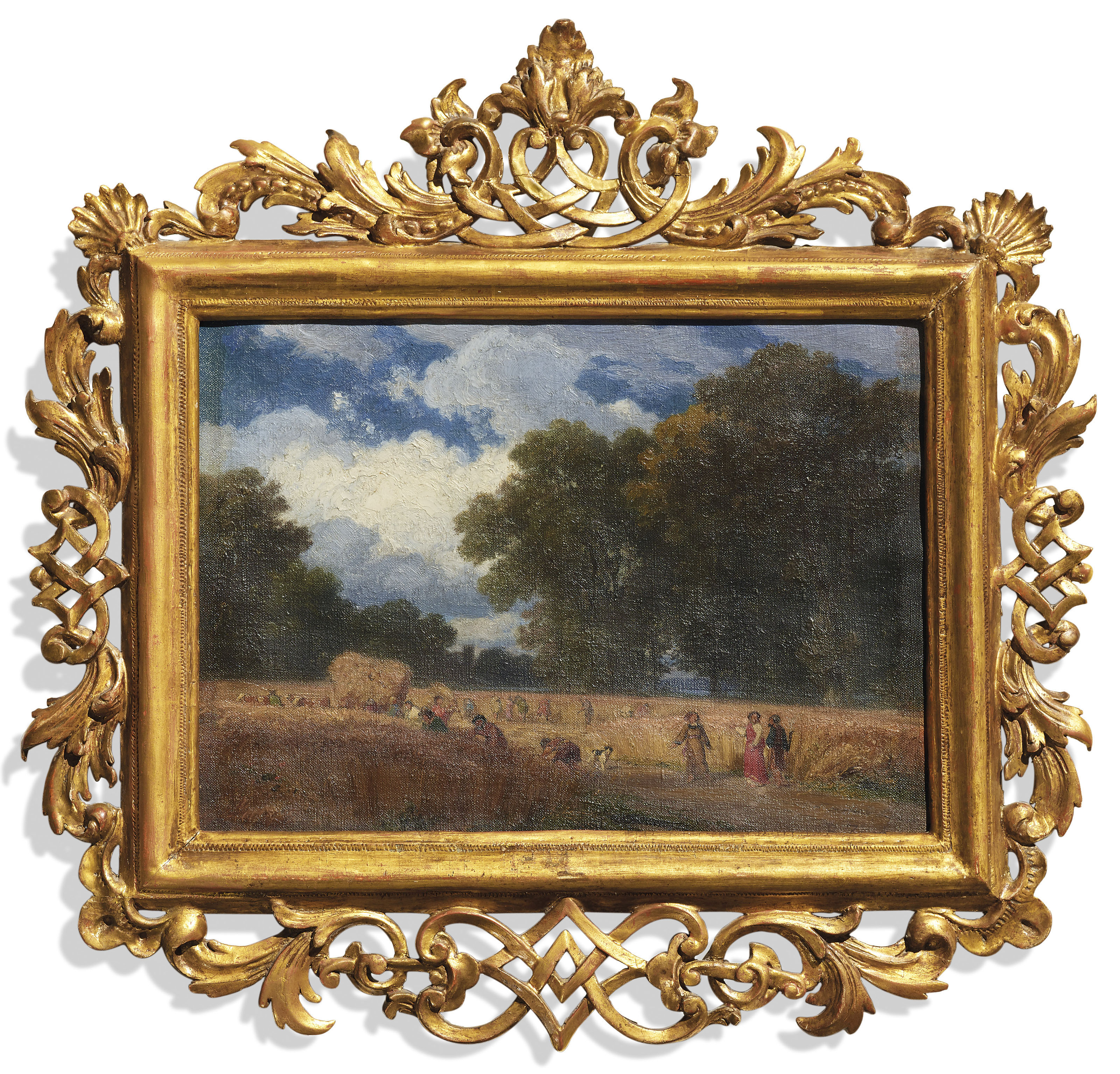 Studie zu Die Ernte, um 1860