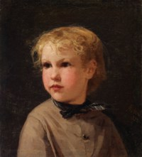 Bildnis eines Mädchens, 1872
