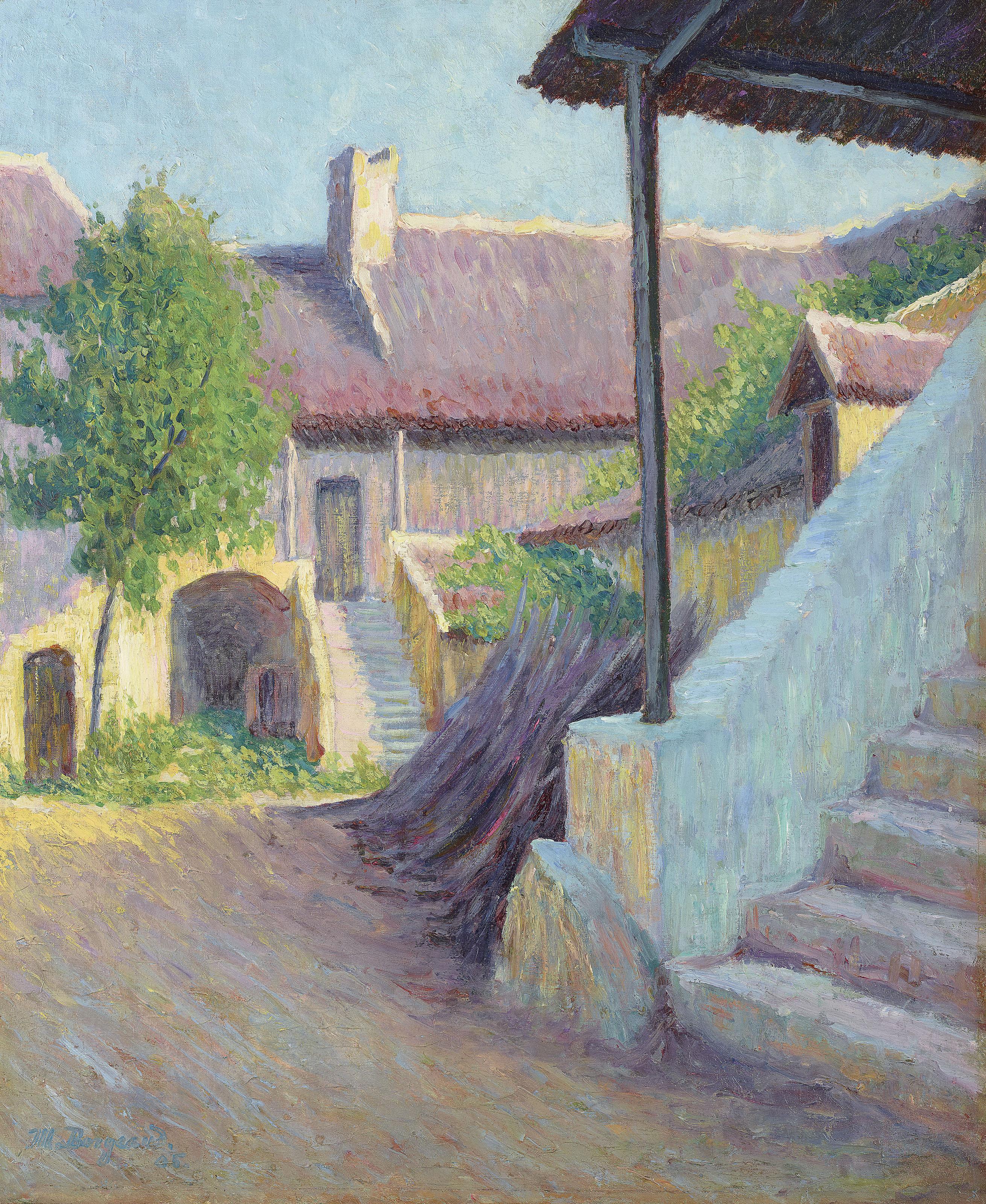 Entrée de ferme, 1905
