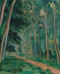 Chemin forestier, 1916
