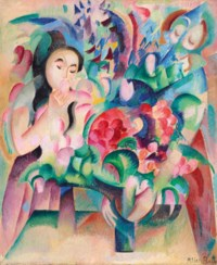 Fleurs et figures, um 1915