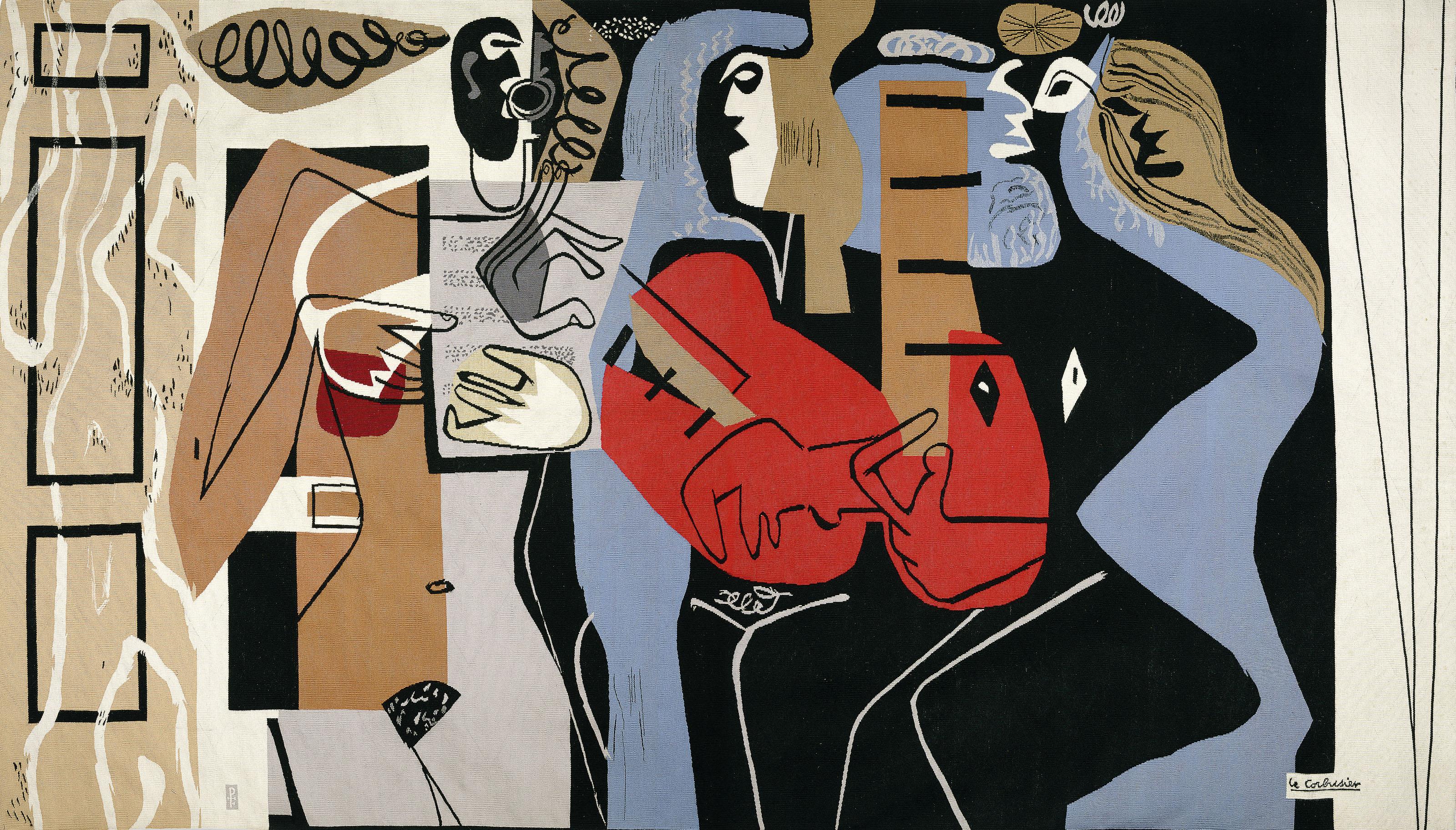 Les trois musiciennes, um 1958 (ausgeführt)