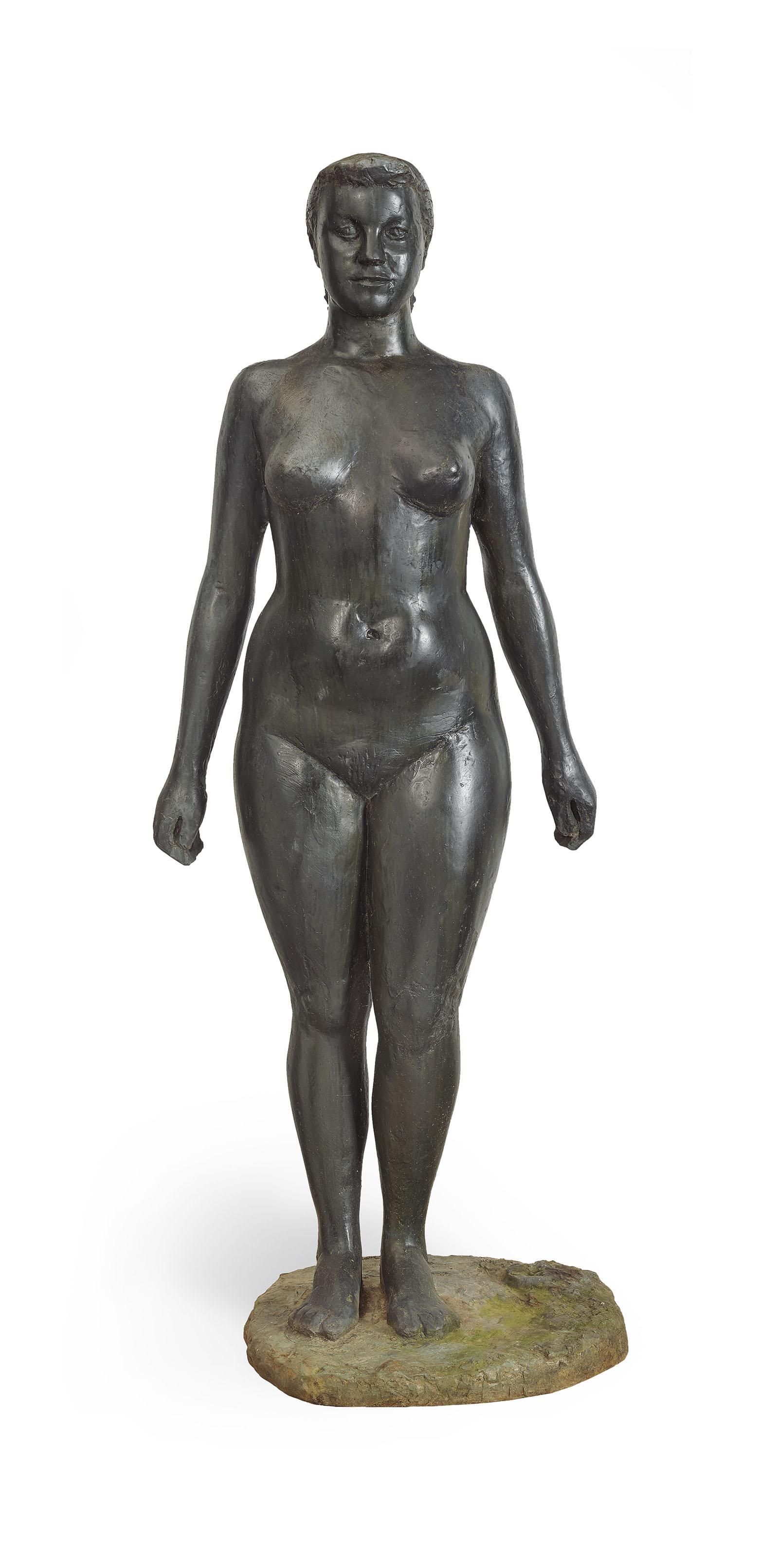 Stehender, weiblicher Akt (Doris), nach 1942