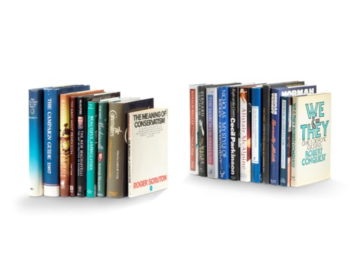 COLLECTION OF BOOKS RELATING TO POLITICS, HISTORY, AND THE CONSERVATIVE  PARTY