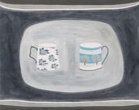Two Patterned Mugs