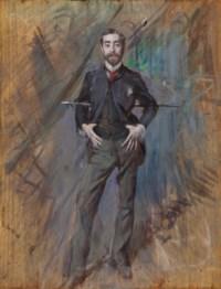 Portrait of John Singer Sargent