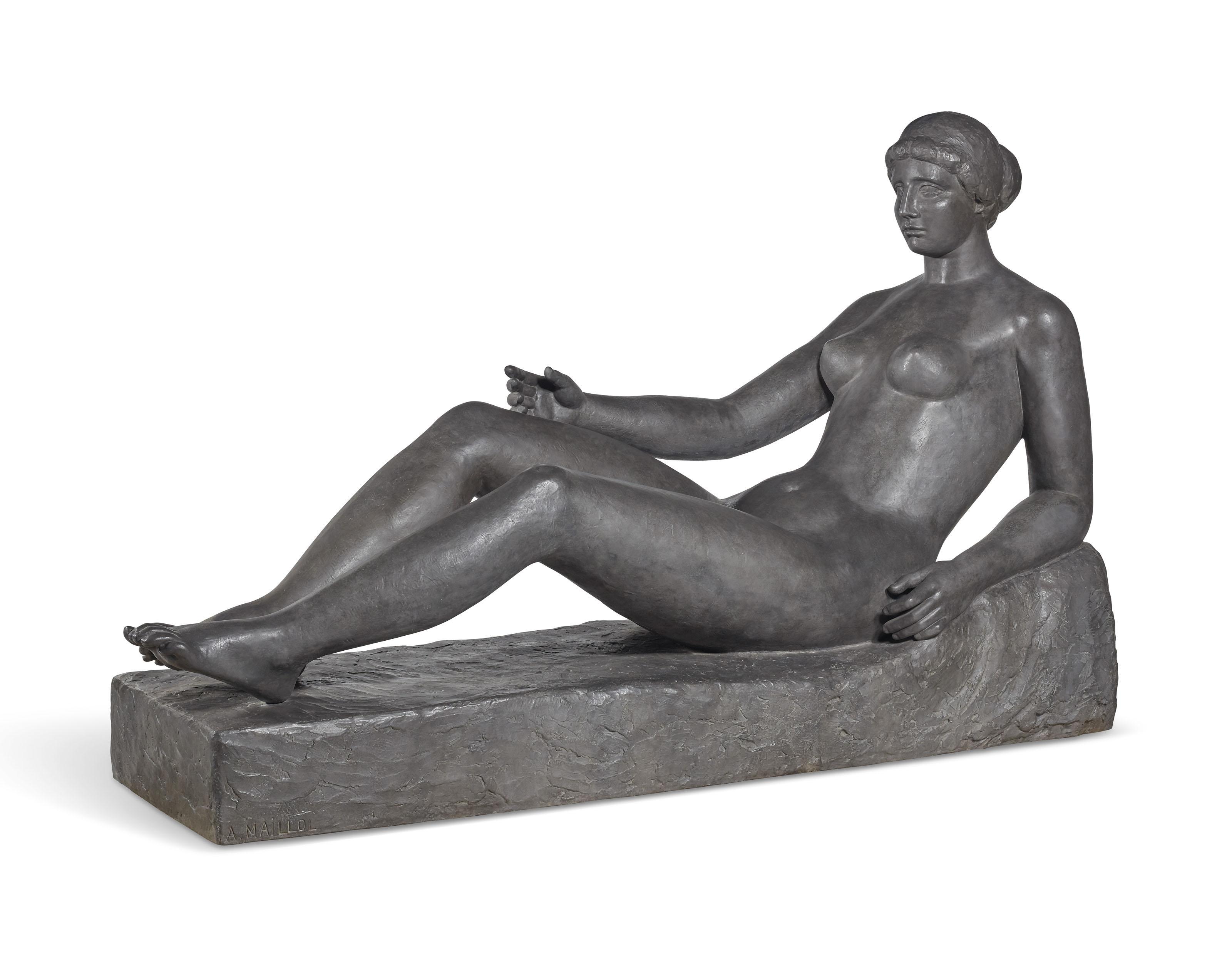 Jeune Fille allongée (Premier état pour le monument à Port-Vendres)
